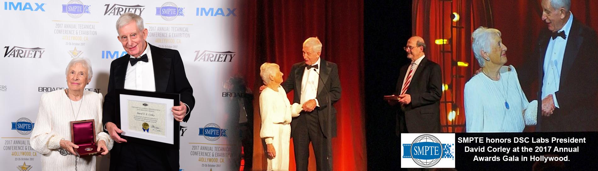 David received SMPTE Award 2017